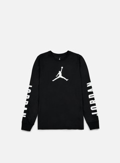 Jordan - Flight 23 LS Dri-Fit T-shirt, Black/White 1