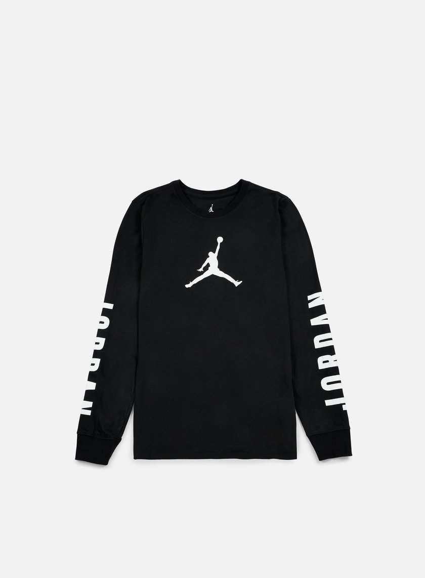 Jordan - Flight 23 LS Dri-Fit T-shirt, Black/White