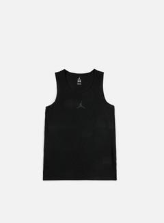 Jordan - Flight Basketball Jersey, Black/Black