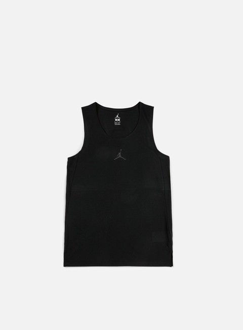 t shirt jordan flight basketball jersey black black