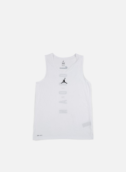 t shirt jordan flight basketball jersey white black