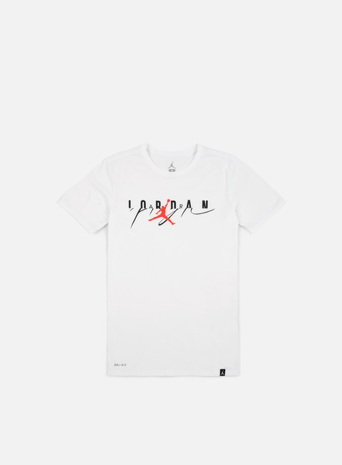 Sale Outlet Short Sleeve T-shirts Jordan Flight Mesh-Up T-shirt