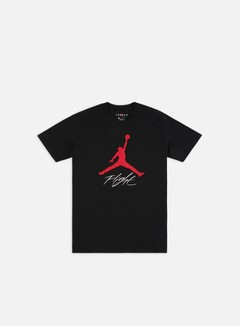 Jordan - HBR Jumpman Flight T-shirt, Black/Gym Red