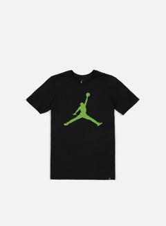 Jordan - Iconic Jumpman T-shirt, Black/Alt Green