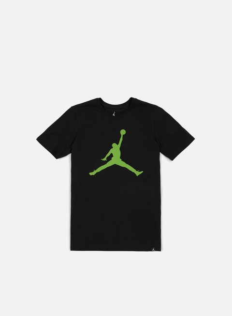 t shirt jordan iconic jumpman t shirt black alt green