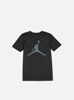 Jordan - Iconic Jumpman T-shirt, Black Heather/White