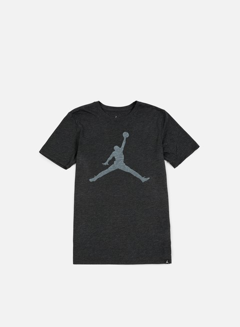 t shirt jordan iconic jumpman t shirt black heather white