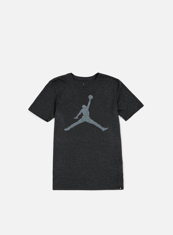 Jordan - Iconic Jumpman T-shirt, Black Heather/White