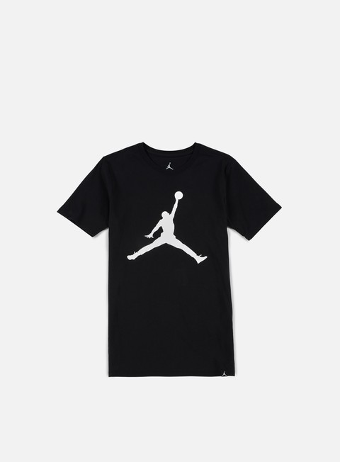 t shirt jordan iconic jumpman t shirt black white