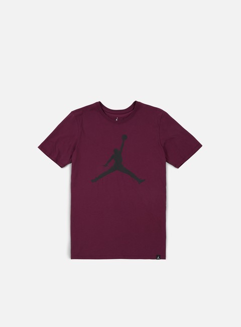 t shirt jordan iconic jumpman t shirt bordeaux black