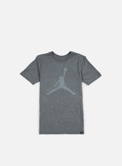 Jordan - Iconic Jumpman T-shirt, Charcoal Heather/White