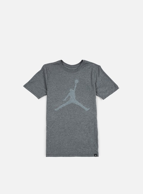 t shirt jordan iconic jumpman t shirt charcoal heather white