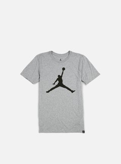 Jordan - Iconic Jumpman T-shirt, Dark Grey Heather/Sequoia