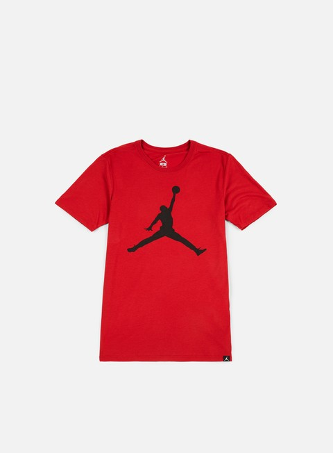 t shirt jordan iconic jumpman t shirt gym red black