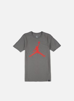 Jordan - Iconic Jumpman T-shirt, River Rock/University Red