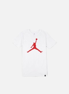 Jordan - Iconic Jumpman T-shirt, White/university Red