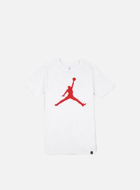 t shirt jordan iconic jumpman t shirt white university red