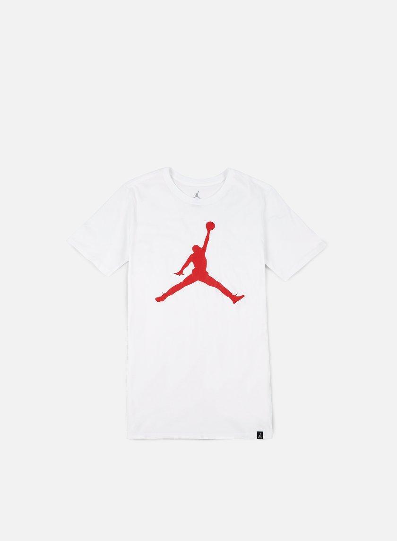 Jordan - Iconic Jumpman T-shirt, White/University Red