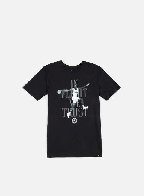 Outlet e Saldi T-shirt a Manica Corta Jordan In Flight We Trust T-shirt