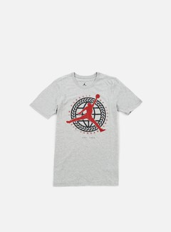 Jordan - In Pursuit Of T-shirt, Dark Grey Heather/Gym Red 1