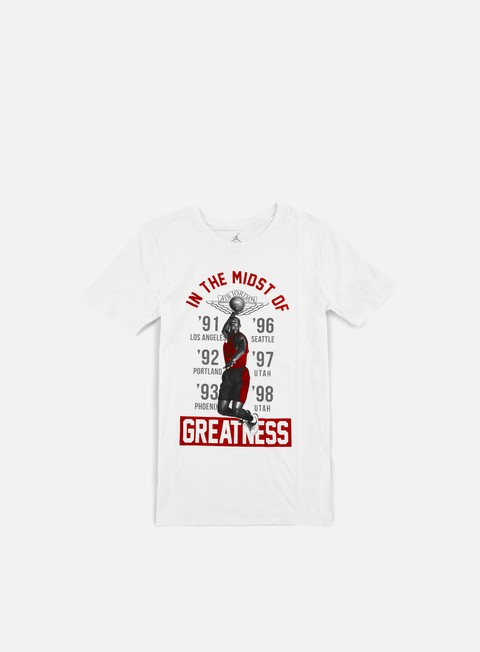Outlet e Saldi T-shirt a Manica Corta Jordan In The Midst Of Greatness T-shirt