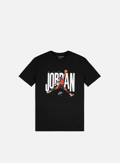 Short Sleeve T-shirts Jordan Jordan Jump Photo T-shirt