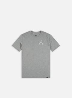 Jordan - Jumpman Air Emrboidery T-shirt, Carbon Heather/White