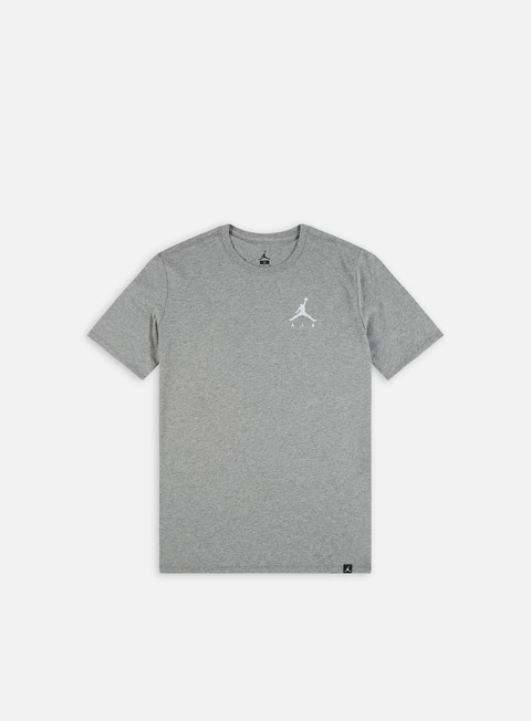 t shirt jordan jumpman air emrboidery t shirt carbon heather white