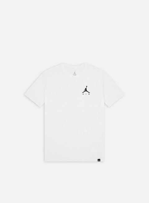 t shirt jordan jumpman air emrboidery t shirt white black