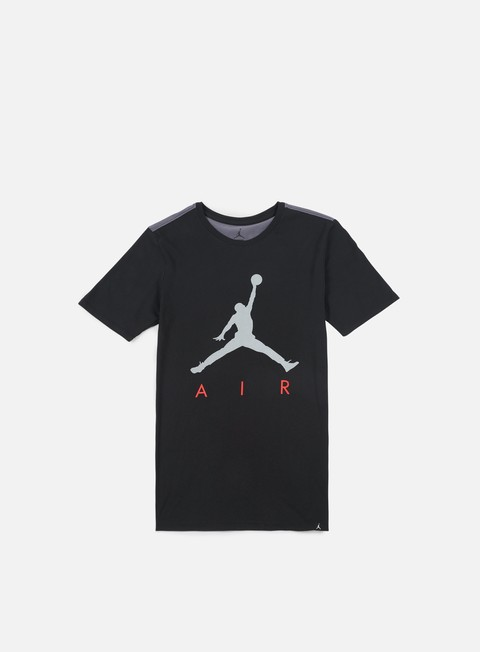 t shirt jordan jumpman air hybrid t shirt black dark grey