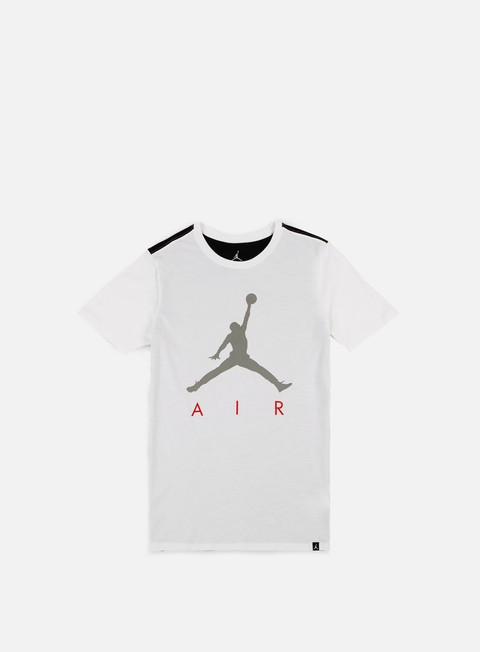 t shirt jordan jumpman air hybrid t shirt white black
