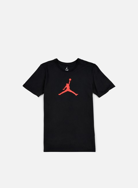 t shirt jordan jumpman dri fit t shirt black infrared23