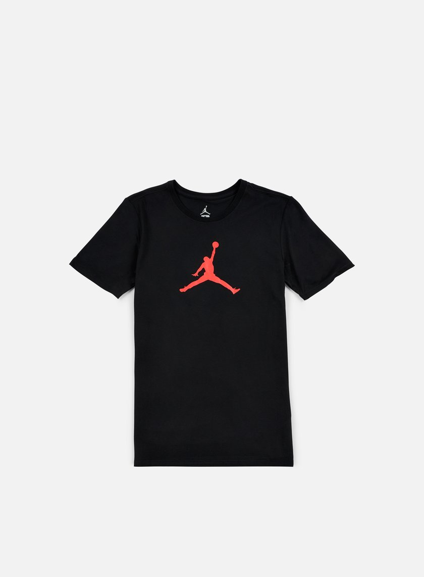 Jordan - Jumpman Dri-Fit T-shirt, Black/Infrared23