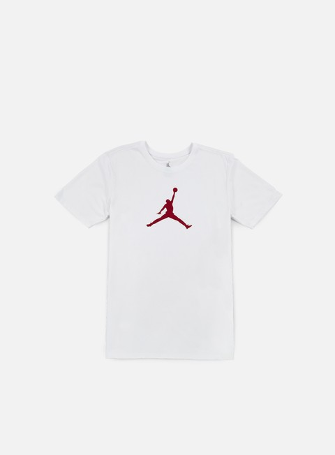 t shirt jordan jumpman dri fit t shirt white gym red