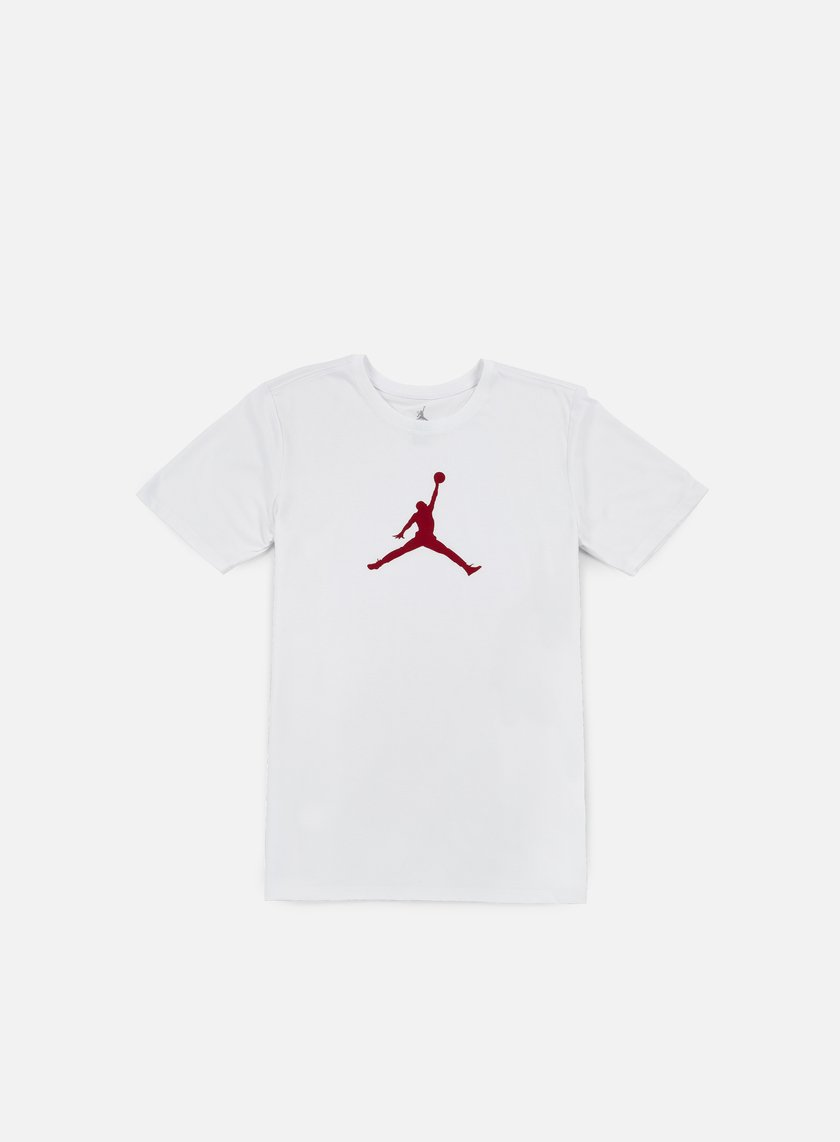 Jordan - Jumpman Dri-Fit T-shirt, White/Gym Red