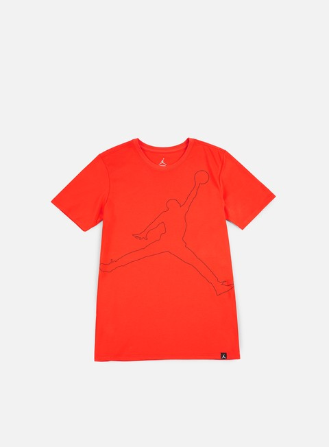 t shirt jordan jumpman rise dry t shirt max orange black