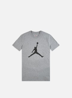 Jordan - M J Jumpman T-shirt, Carbon Heather/Black