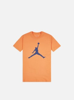 Jordan - M J Jumpman T-shirt, Orange Trance/Mystic Navy