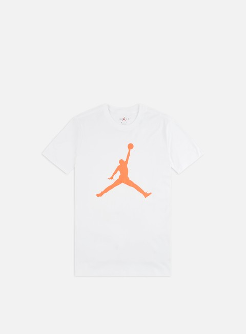 Sale Outlet Short Sleeve T-shirts Jordan M J Jumpman T-shirt