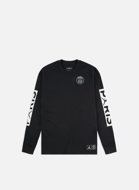 Long Sleeve T-shirts Jordan M J PSG LS T-shirt