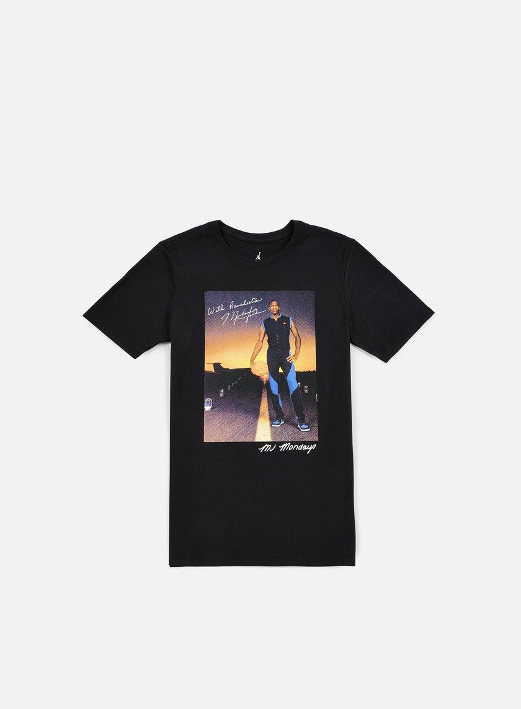 Jordan - MJ Monday's T-shirt, Black/White