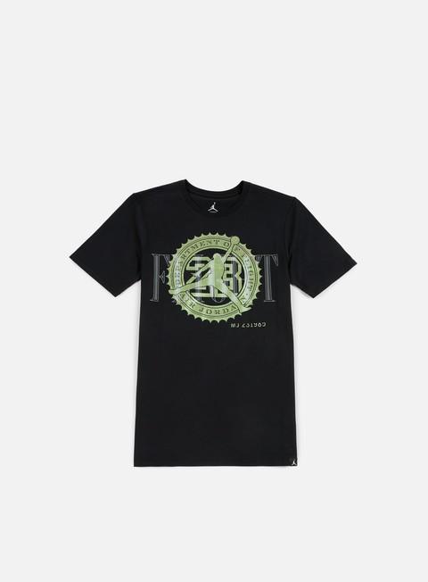 Outlet e Saldi T-shirt a Manica Corta Jordan Pure Money Bank Note T-shirt