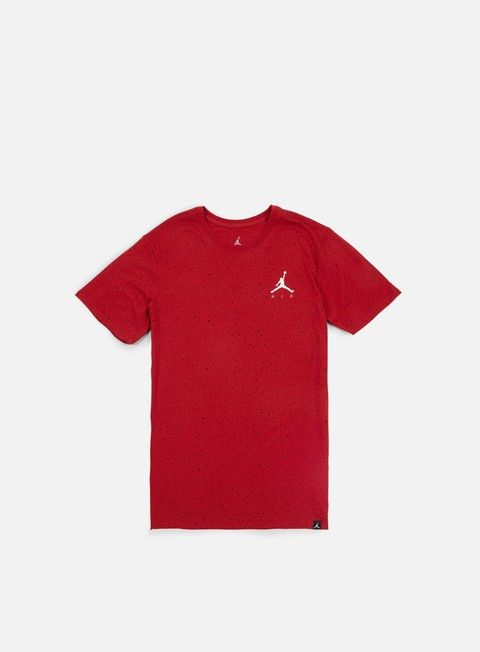 t shirt jordan speckle aop t shirt gym red white