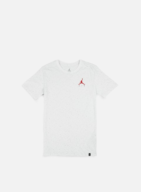 t shirt jordan speckle aop t shirt white university red