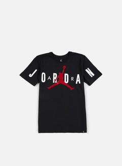 Jordan - Stretched T-shirt, Black/Gym Red 1