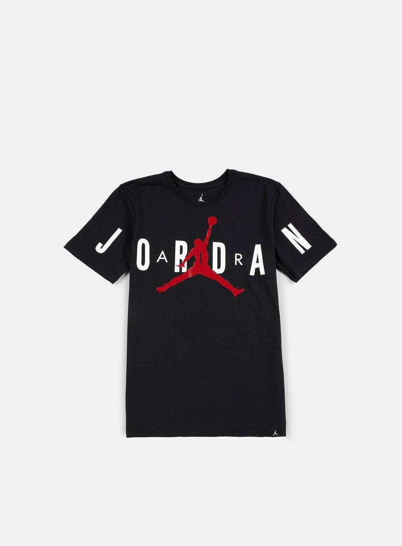 Jordan - Stretched T-shirt, Black/Gym Red