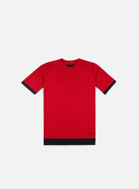 t shirt jordan tech t shirt gym red black