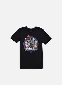 Jordan - That's All Folks T-shirt, Black/Concord 1
