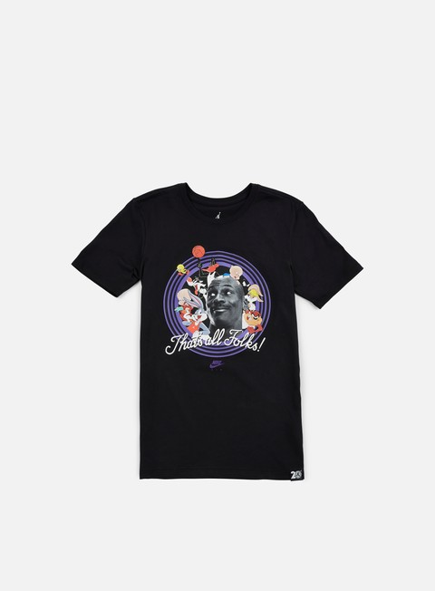t shirt jordan that s all folks t shirt black concord