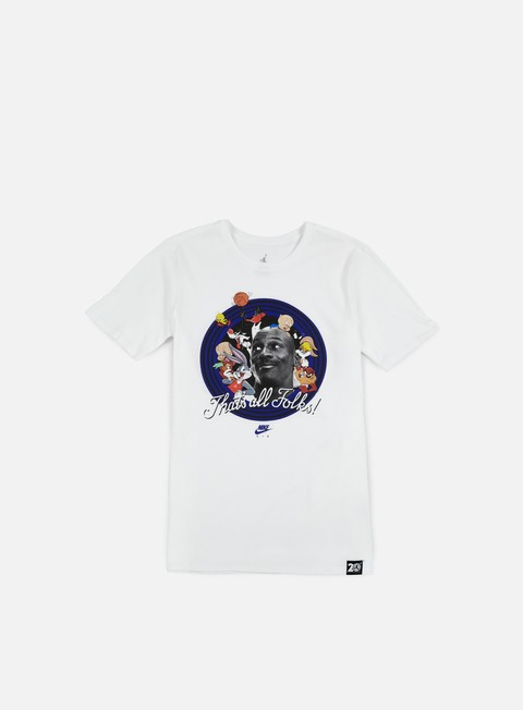 t shirt jordan that s all folks t shirt white concord